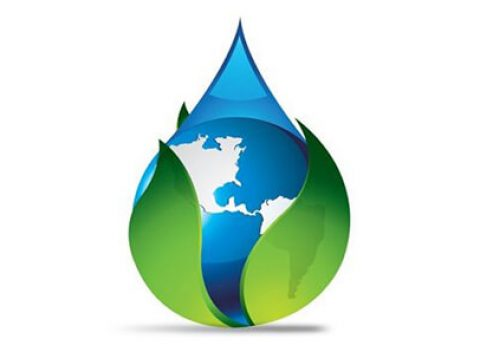 envito tech npdes services logo earth inside drop of water graphic