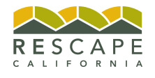 logo for Rescape California